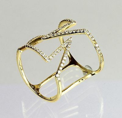 14K Yellow Gold Ring with Diamonds (0.40cts)*