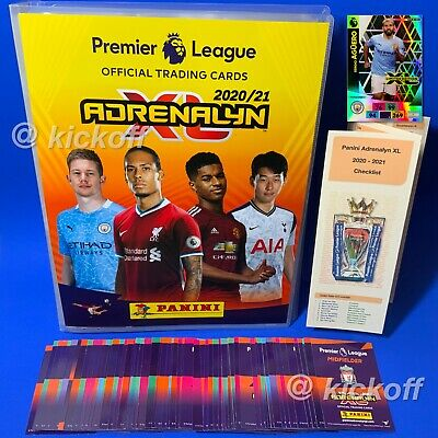 Panini Adrenalyn XL Premier League 2019-2020 Binder 70 cards 8 Foils. Limited Ed