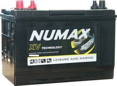 4 x Numax XV27MF 12V 95AH XV Supreme Deep Cycle Leisure Marine Battery 3yr Wty