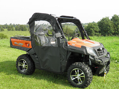 CF MOTO UFORCE 2 Pc Vented Windshield-BEST-FREE SHIPPING! - $369 99