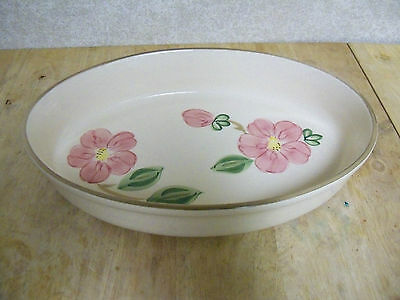 """Franciscan Desert Rose Oval Baking Dish 12"""" Long by 8"""" Wide - Made in Portugal"""