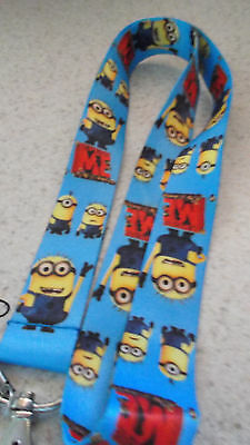 NEW_ Disney Pin Lanyard_Child Size_MINIONS  Despicable Me