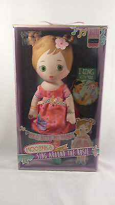 "Mooshka Sing Around The Rosie 14"" Lera Doll Interactive Sings with You! Toy NIB"