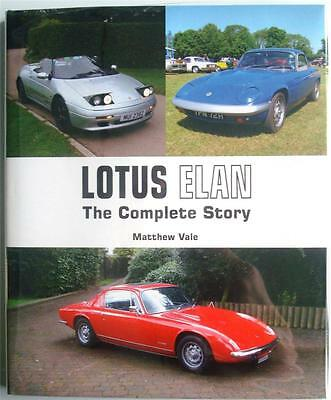 Lotus Elan The Complete Story Matthew Vale Car Book