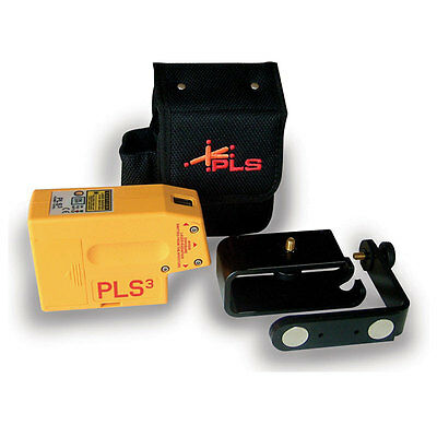 Pacific Laser Systems PLS3 Self-Leveling 3 Point Laser Plumb Level - PLS-60523