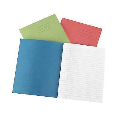 "School Exercise Books A5 8""x6.5"" 8mm Lined & Margin School Note Books"
