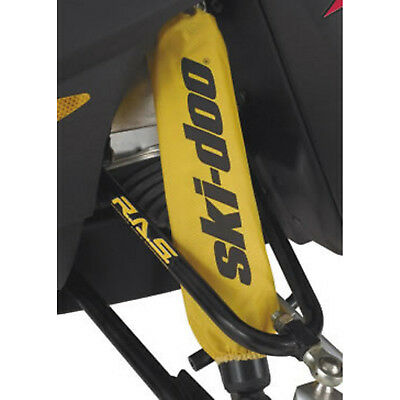 Ski-Doo New OEM Yellow Front Shock Sleeve Cover Protectors PAIR 860201130