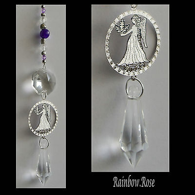 ZODIAC Crystal Suncatcher VIRGO (Aug 23 - Sept 22) Star Sign