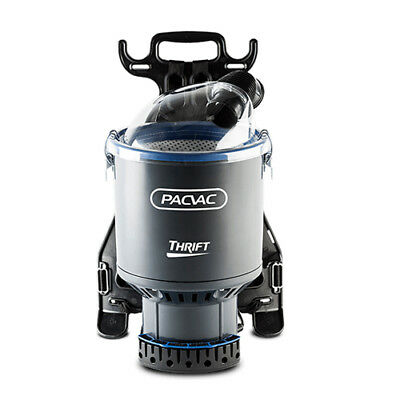 Pacvac New Upgraded Thrift Commercial Back Pack Vacuum Cleaner 2Yrs Warnty