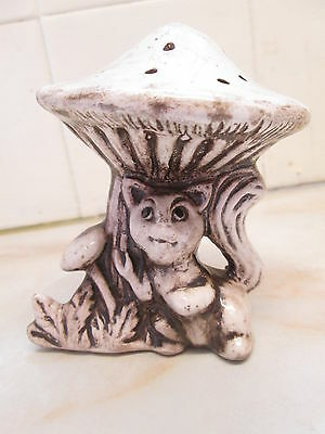Nuova Capodimonte Ornament Animal Toadstool Squirrel Vintage With Label