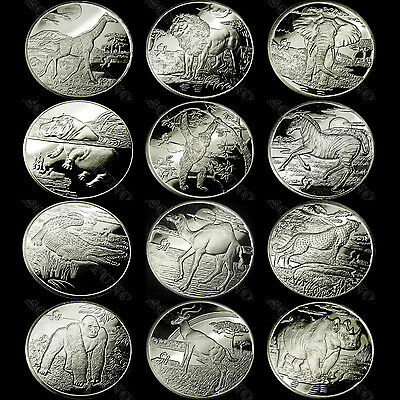 Sierra Leone AFRICAN ANIMALS Your Pick from 12 CuproNickel Coins 2005 2006 2007