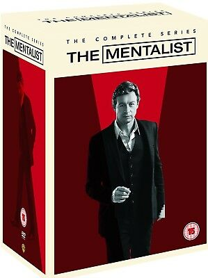 THE MENTALIST 1-7 2008-2015: COMPLETE Crime Drama TV Season Series R2 DVD not US