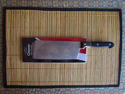 """CLEAVER 11"""" Long ,6.5"""" Blade, Kitchen Cooking Chef's Knife"""