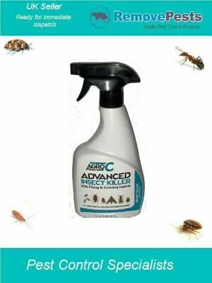 Flea bedbug bed bug killer poison spray treatment for insect control AGRO 500ML