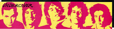 Rolling Stones 1983 Undercover Promo Poster Banner