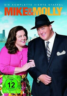 Mike & Molly - Season/Staffel 4 * NEU OVP * 3 DVDs * (and,und)