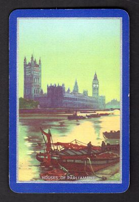 Vintage Swap/Playing Card - Houses of Parliament