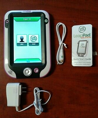 leapfrog leappad pink grade A great conditions whit 3 games on the memory #43567