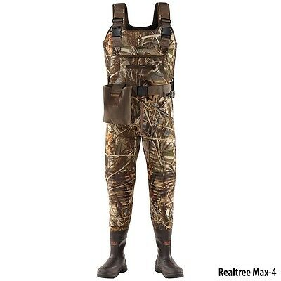 LACROSSE SWAMP TUFF PRO 1000G 700122 SZ 9 CHEST WADERS NEW!