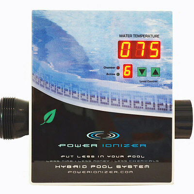 Solar Powered Water Ionizer Above Ground Inground Swimming Pool Purifier Water