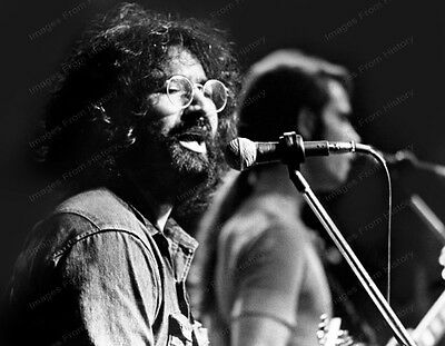 8x10 Print Jerry Garcia The Grateful Dead #2880