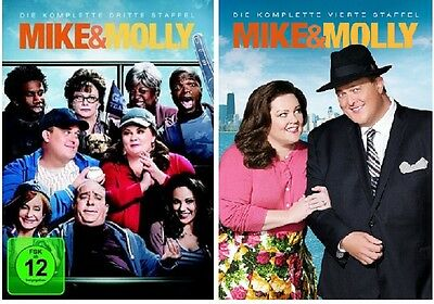 Mike & Molly - Season/Staffel 3+4 * NEU OVP * DVD Set * (and,und)