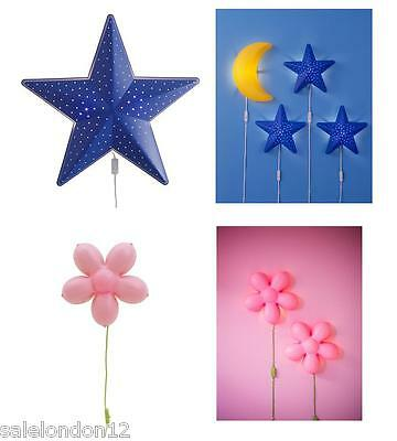Ikea- Smila Stjarna Or Blomma- Wall Lamp- Perfect For Kids Room-Buy More & Save