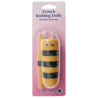 Hemline French Knitting Dolly Bee Design With Tailors Awl