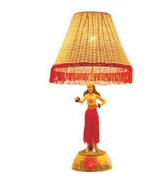 "Vintage Style Motion Hula Lamp - Girl in Dance Pose 26 "" Tall Table Lamp"