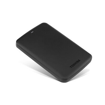 "Toshiba Canvio Basics USB 3.0 5Gb/s 2000GB 2TB 2.5"" External Hard Drives - Black"