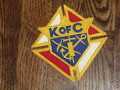 knights of colombus, patch,new old stock ,1960's