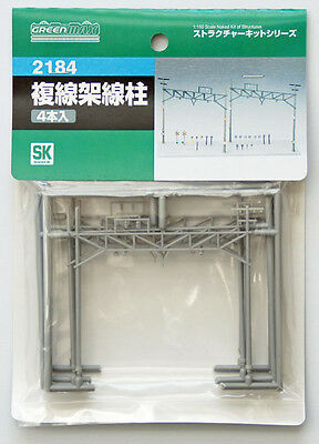 Greenmax No.2184 Double Track Catenary Pole (1/150 N scale)