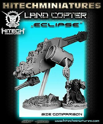 HiTech Miniatures Land Copter ECLIPSE MkI A | BioTech Covenant | S F Tabletop