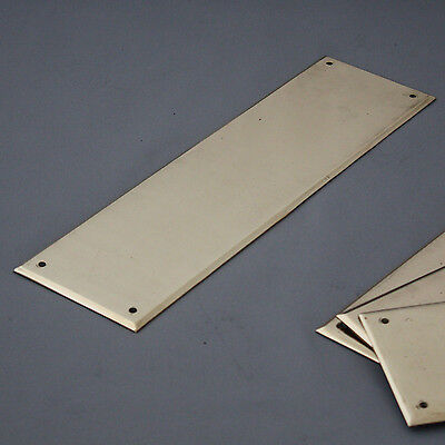 Reclaimed Heavy Brass Finger Plates