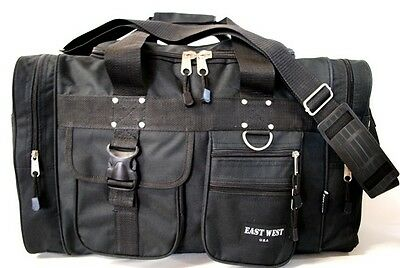 0a6f05caa33f BLACK DUFFELBAG DUFFEL Gym BAG Bags New 25 Inch Carry On Sports Workout  Travel