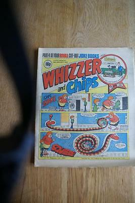 Whiizzer And Chips Comic August 9, 1980