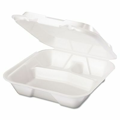 Genpak Takeout Foam Clamshell Food Containers - GNPSN203