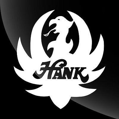 Hank Williams Jr Decal Sticker - 18 COLORS - 5 SIZES