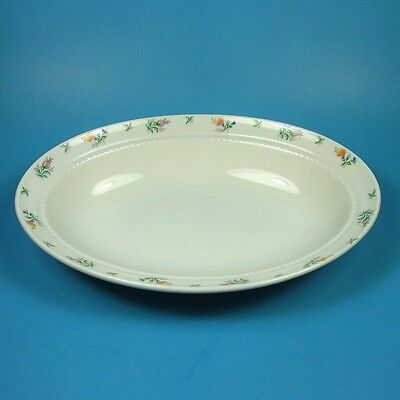 Harmony House MONTICELLO Oval Vegetable Serving Bowl Made in USA by HALL