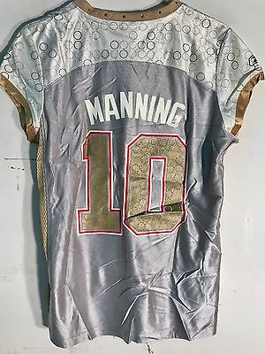 ELI MANNING NEW York Giants NFL Reebok Women s Super Bowl Jersey ... f8a541478
