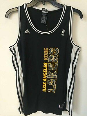 0489e4bf63c Adidas Women s Jersey Los Angeles Lakers Kobe Bryant Black Vertical sz 2X