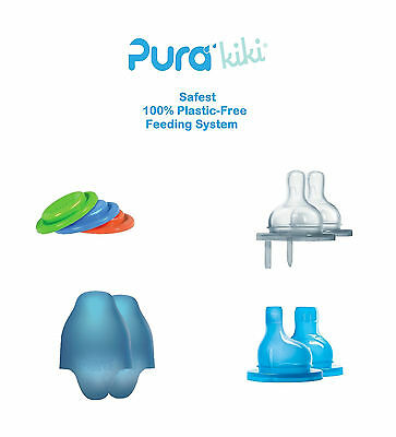 Pura Kiki Stainless Steel Baby Bottle Accessories