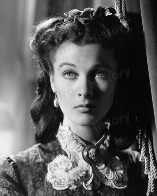 8x10 Print Vivien Leigh Gone with the Wind 1939  #833340B
