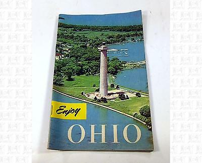 Enjoy Ohio Travel Booklet 1950s In Color