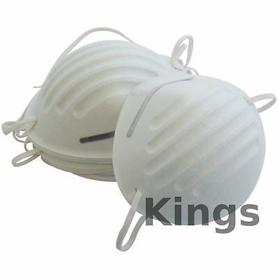 1 5 10 DISPOSABLE NUISANCE LIGHTWEIGHT DUST MASK WITH ELASTIC STRAPS Diy Dusty