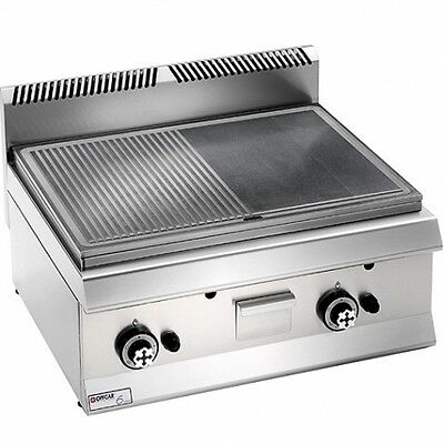 GAM International GAS Grillplatte GAS-Grill 350x630x285mm 6 kW
