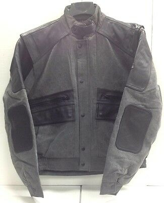 Hein Gericke Rally Textile/Leather Motorcycle Jacket Men's size Large