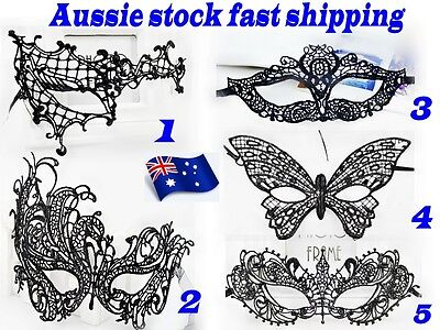 Fashion Black Lace Party Ball Masquerade Mask Fancy Dress Party Mask