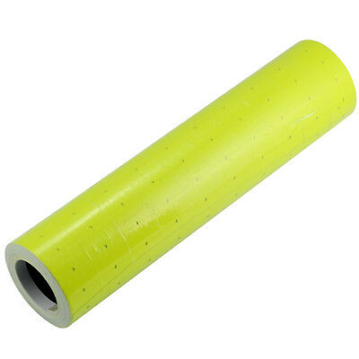 Yellow 10 Rolls X 500pcs Tags Labels Price Refill Blank for MX-5500 Price Gun