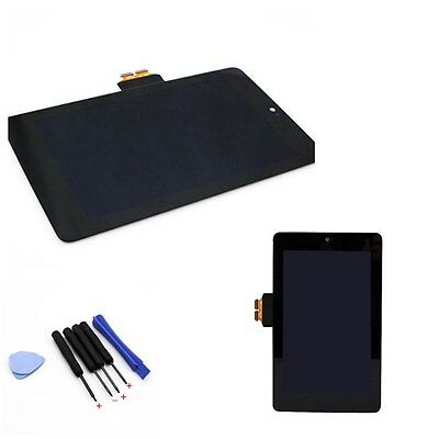 LCD Touch Screen Digitizer Assembly Replacement for ASUS Google Nexus 7 & Tools